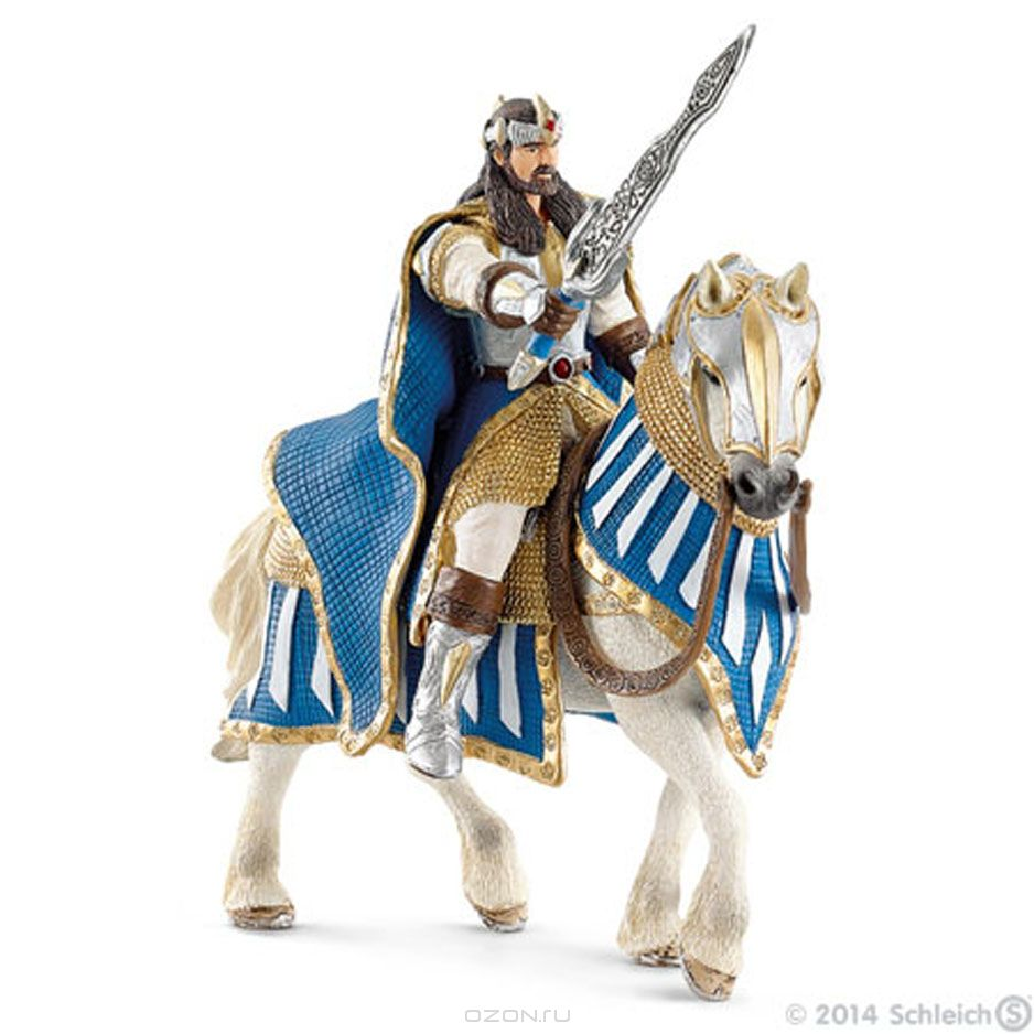 Рыцарь на лошади schleich