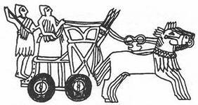 Древние колесницы