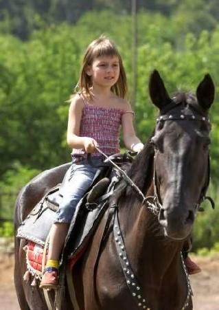 Советы для ребенка с лошадью