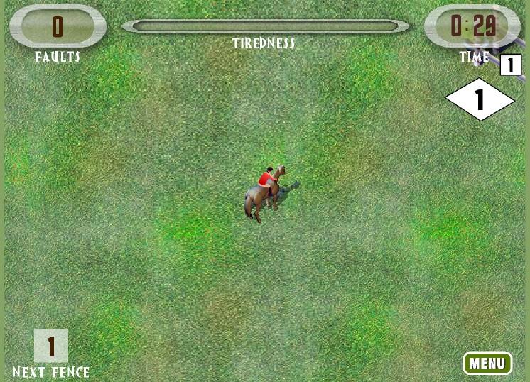 Конкур на лошадях. Игра про лошадей