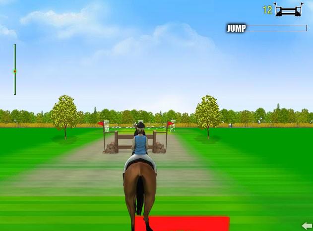 Игры про лошадей прыжки