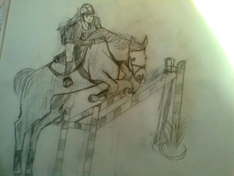 Любительские рисунки лошадей (1)