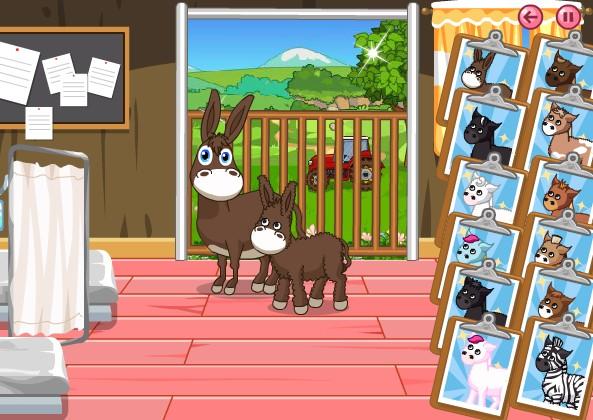 Лошадиная больница. Онлайн игра с лошадьми