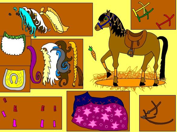 Лошадь на балу. Игра про лошадей для девочек