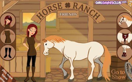 Ранчо для лошадей. Онлайн игра.