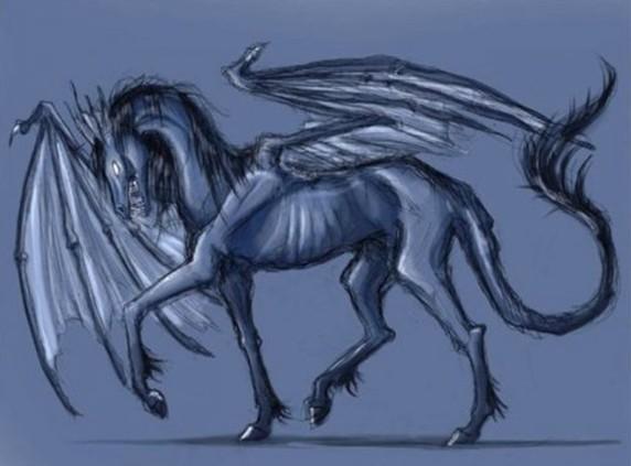 Фестралы - призрачные лошади