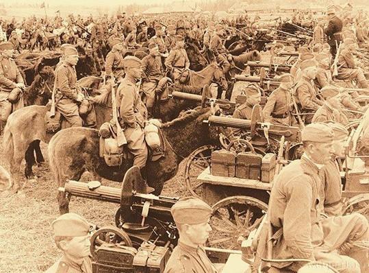 Кавалерия в Великой Отечественной Войне