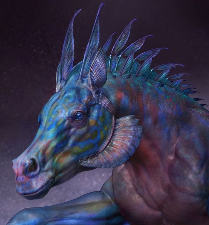 Келпи - мифическая лошадь