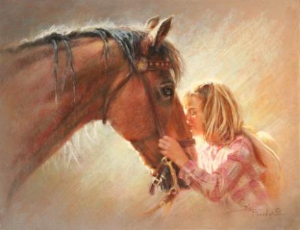 Стих о доброй девочке и лошади