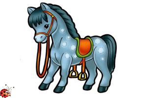 лошадей картинки для детей