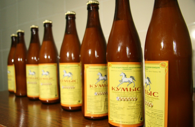 Кумыс в бутылках