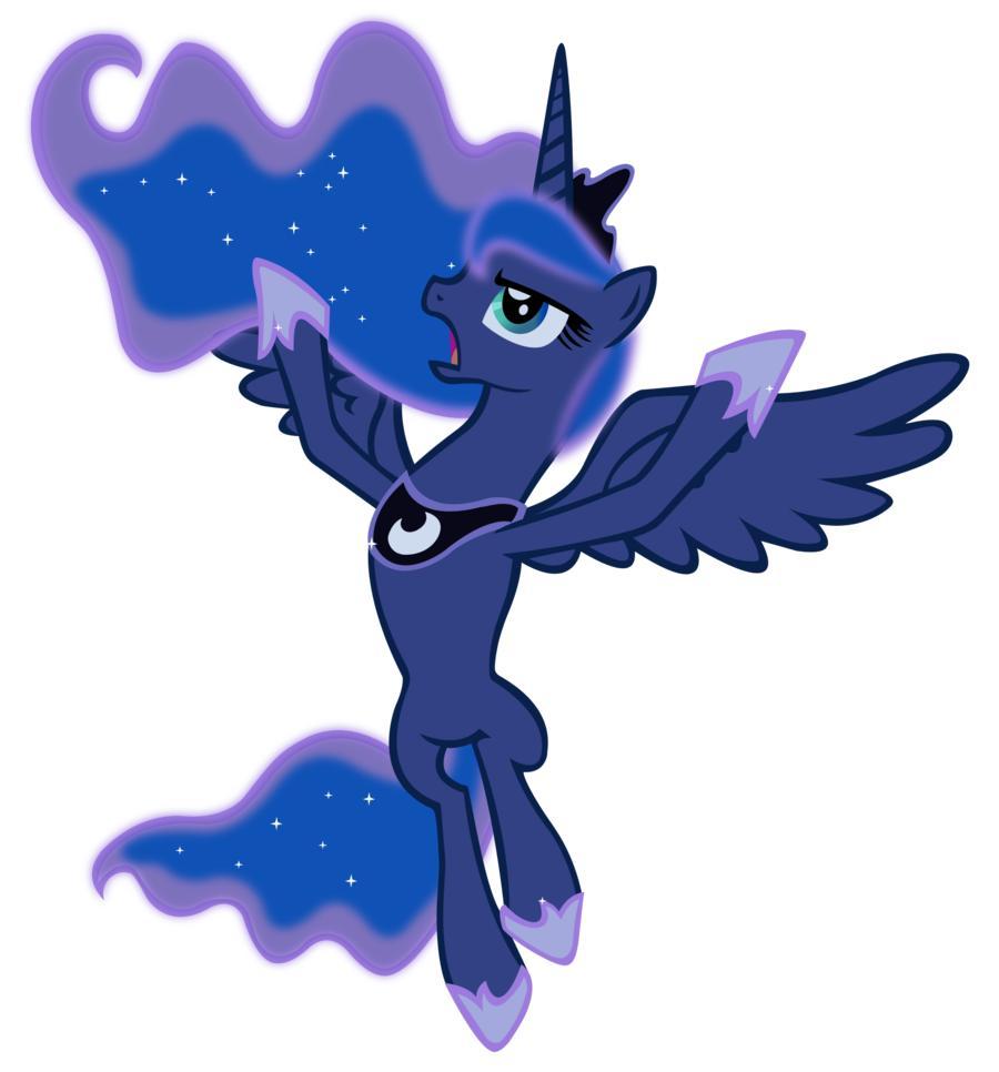 Картинки пони. Принцесса Луна - Мой Конь