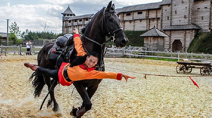 История конного спорта 1