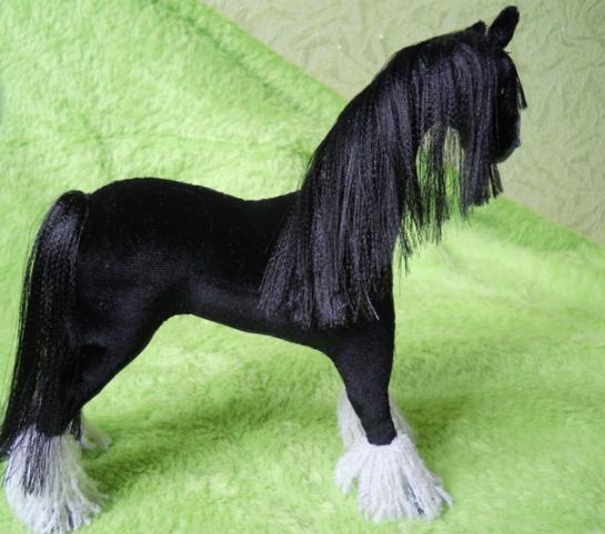 Как сделать гриву для лошади фото 509