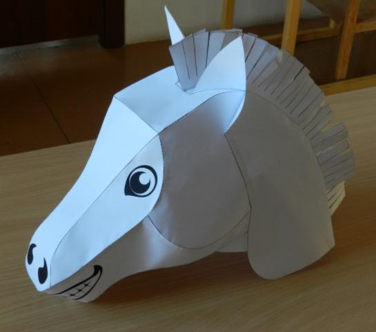 Как сделать гриву для лошади фото 790